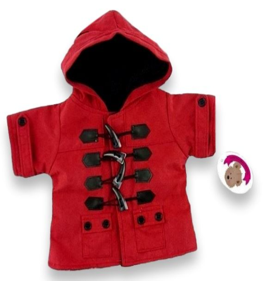Red Duffel Coat
